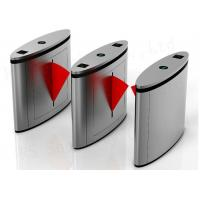 Brush Motor Controlled Access Flap Barrier Gate Speed Pass 304 Stainless Steel Manufactures