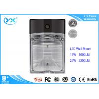 China Outdoor goverment project 25W Led Wall Pack Lights CRI 80 2200 LM IP65 Rated on sale