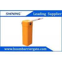 80 W AC Straight Arm Parking Lot Barrier Gate , Security Car Boom Barriers Manufactures