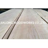 Crown Cut Sliced American Cherry Wood Veneer Sheet For Interior ecoration Manufactures