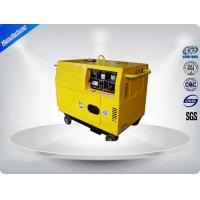 2.8-3.2 Kva Quiet Running Portable Generator Set Single Phase 3 Loops Recoil Starter Manufactures
