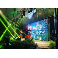Indoor P5 Full Color LED Stage Display 480*480mm die-casting aluminum cabinet Manufactures