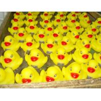 Quality Phthalate Free Cute Baby Rubber Duck Decorated Floating For Baby Shower Water for sale