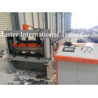 Automatic Sheet Metal Roll Former Machine For 1.2mm Floor Decking Material Manufactures