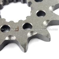 High Precision Dirt Bike Sprockets / Stainless Steel Sprockets With Heat Treatment Process Manufactures