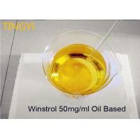 China Stanozolol 50mg/ml Water / Oil Base Legal Anabolic Steroids Oral Winstrol 50mg / Ml on sale