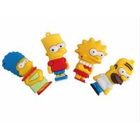 cartoon simpson usb pendrive 64GB 8GB 4GB 16GB 32GB pen drive usb 2.0 flash memory stick Manufactures