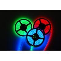 12 volt multicolor Green 3528 SMD Led Strip Light IP60 120 °Viewing Angle 60CM Manufactures