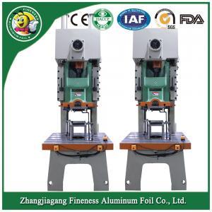 Customized classical aluminum foil container making equipment Manufactures