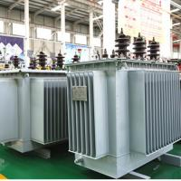 China Oil Immersed Electrical Power Transformer Three Phase Toroidal Coil Structure on sale