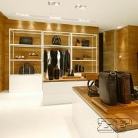 Wooden wall bag display stands/hangbag store furniture design Manufactures