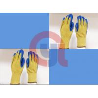 String Knit Aramid Cut Resistant Work Gloves For Mechanical Cutting Process Manufactures
