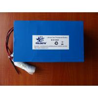 36V 20Ah Lithium Iron phosphate battery pack (LFP7365132-12S4P, 38.4V 768Wh) Manufactures