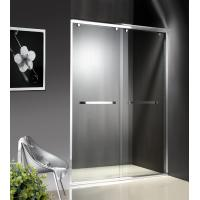 1200-2000X1950mm Double Sliding Glass Shower Doors , Shower Cubicle Doors With Double Wheels Manufactures