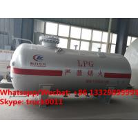 2018s high quality and competitive price 4MT surface propane gas storage tank for sale, HOT SALE! 8cbm  lpg gas tank Manufactures