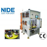 Double heads four working station vertical type stator auto coil winding machine Manufactures
