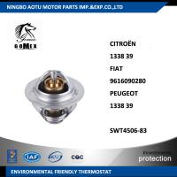 Car Coolant Thermostat 133839  9616090280 133839 SWT4506-83 , PEUGEOT Thermostat Manufactures