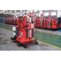 Soil Investigation Core Drilling Machine Easy Operation With Hydraulic Feeding Device Manufactures