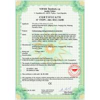 Wenzhou Meterking Co.,LTD Certifications