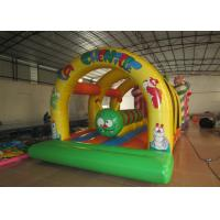 Buy cheap Kis inflatable bounce house with caterpillar inside hot arch modeling inflatable jump house from wholesalers