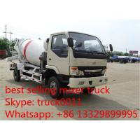 Quality factory sale best price Dongfeng duolika 4*2 LHD 5cbm concrete mixer truck, 2017S newdongfeng cement mixer truck for sale