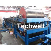 Galvanized Color Steel Raw Material Continuous PU Sandwich Panel Production Line With PU Insulation And Aluminum Foil Manufactures