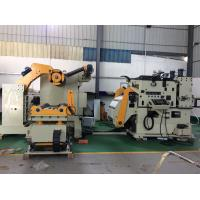 Automatic Yaskawa Servo Motor Drive 3 In 1 Decoiler Straightener Feeder For Automobile Parts Manufactures