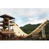 12m Platform Height U - Waving Water Park Slide / Commercial Playground Equipment Manufactures