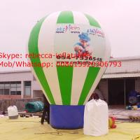 Round shape Above ground advertising inflatable  balloon Manufactures