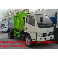 Buy cheap HOT SALE!2018s new deisgned Dongfeng diesel compressed docking wastes collecting vehicle, garbage truck for sale from wholesalers