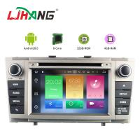 Android 8.0  Avensis Toyota Car DVD Player With Multimedia Radio GPS Manufactures
