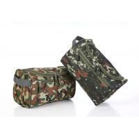 Convenient Zipper Side Travel Cosmetic Bags Large Capacity With Arc Shaped Hook Manufactures