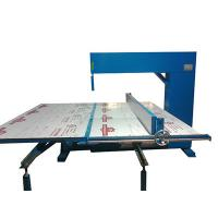 Vertical Polyurethane Memory Foam Cutting Machine Adjustable Speed Manual Manufactures