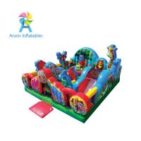 Outdoor children's inflatable animal kingdom playground games for fun park Manufactures