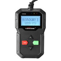 China Multi - Funtional Konnwei Car Diagnostic Scanner KW590 2.4 Inch Back Lit Screen on sale