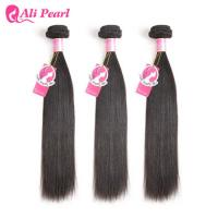 Unprocessed 8A Malaysian Straight Hair Bundle Deals Weft Weave For Black Ladies Manufactures