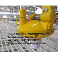 Poultry & Livestock Farm Silver Steel Automatic Broiler Chicken Ground Raising System with Feeding Pan System Manufactures