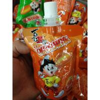 Customized Jelly Packaging Stand Up Spout Pouch in Laminated Plastic Manufactures