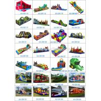 New design Inflatable obstacle/ kids Crocodile obstacle course