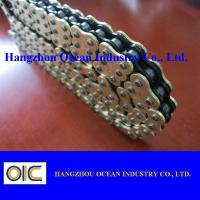 520-120L Motorcycle O Ring Chain Transmission Spare Parts In Black and Gloden Manufactures