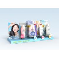Advertisement Acrylic Counter Stands Lightweight For Skin Care Manufactures