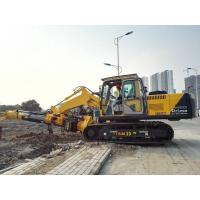 Pile Foundation Equipment , Hydraulic Rotary Piling Rig Construction Pile Driver Manufactures