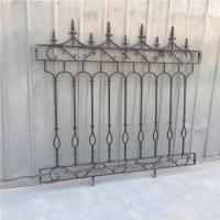 Decorative Wrought Iron Fence Erosion Resistance Ornamental Fence Panels Manufactures