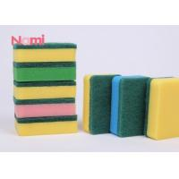 Classic Green Scouring Pad Sponge Wear - Resisant For Outdoor Cleaning