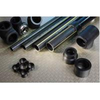 polyethylene black PE gas pipe flexibility good, strong corrosion resistance Manufactures