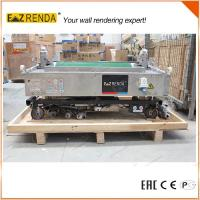 Brick Wall Mechanical Plastering Machine , Cement Rendering Machine High Speed