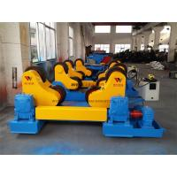 40 Ton Standard Automatic Pipe Rotators For Welding 400mm Diameter Roller Manufactures