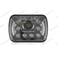 China 7 Inch High Low Beam LED Headlights , Easy Install HID Headlight Replacement on sale