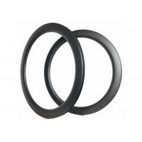 Quality T700 Carbon Light Weight Road Bike Rims , Clincher Carbon Rims Tubular U Shape for sale