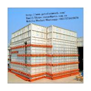 Best Quality Aluminium Alloy Concrete Frame Building Formwork 100x100 Aluminium Profile/aluminium extrusion profile Manufactures